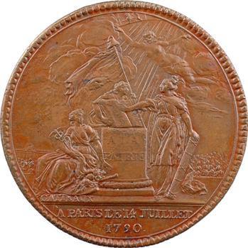 Constitution, Confédération des François, 1790 Paris