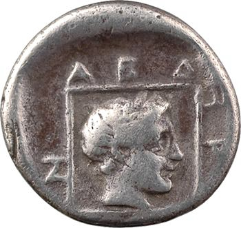 Thrace, Abdère, drachme, c.375-360 av. J.-C.