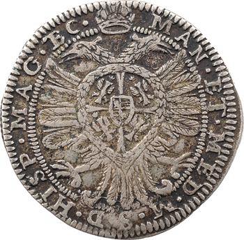 Italie, Castiglione delle Stiviere, Ferdinand II de Gonzague, 25 soldi à l'aigle bicéphale, s.d