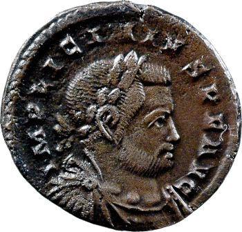 Licinius, follis, Trèves, 310-313