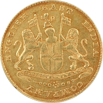 Inde, Madras, Compagnie britannique des Indes Orientales, mohur, s.d. (1819)