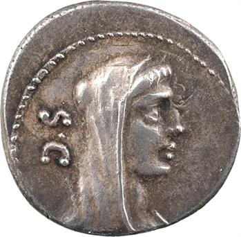Sulpicia, denier, Rome, 69 av. J.-C.