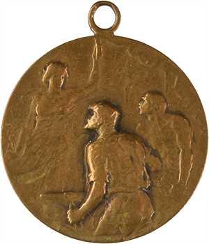 Suisse / Horlogerie, hommage à Émile Nicolet, horloger syndicaliste, 1921