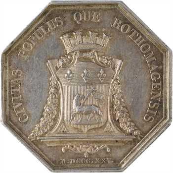 Charles X, Normandie, ville de Rouen, 1825 Paris