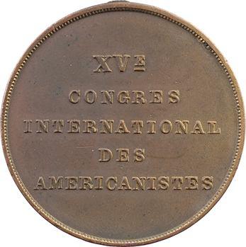 Canada, Québec, XVe Congrès des Américanistes, 1906