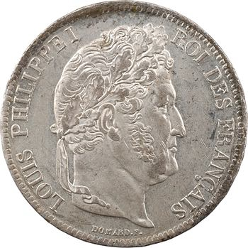 Louis-Philippe Ier, 5 francs IIe type Domard, 1834 Limoges