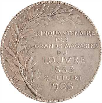 Daniel-Dupuis (J.-B.) : cinquantenaire des Grands magasins du Louvre, 1905 Paris