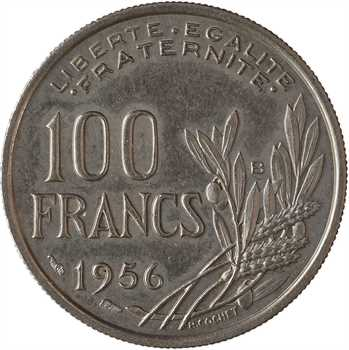 IVe République, 100 Francs Cochet, 1956 Beaumont-le-Roger