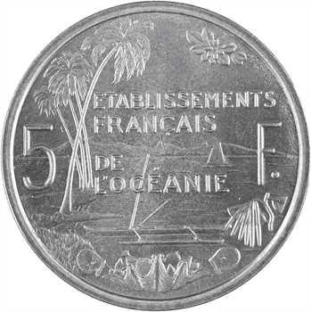 Océanie, essai de 5 Francs, 1952 Paris