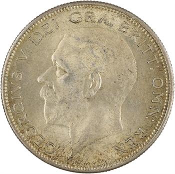 Royaume-Uni, Georges V, half crown (demie couronne), 1928 Londres