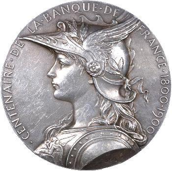 Roty (L.-O.) : centenaire de la Banque de France, 1900 Paris
