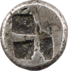 Ionie, Colophon, hémiobole, c.550-500 av. J.-C