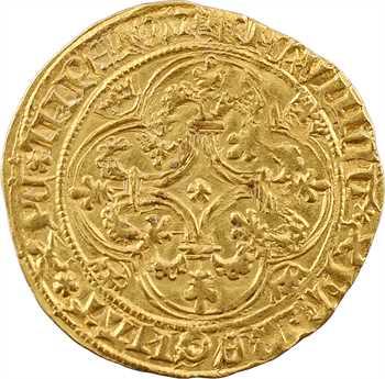 Charles VI, écu d'or à la couronne, 5e émission, Troyes