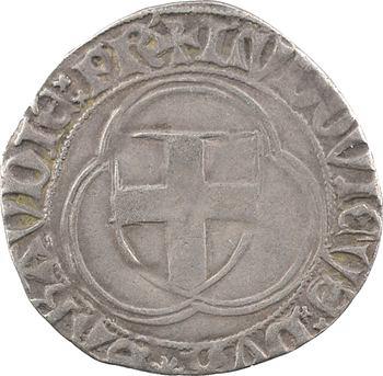 Savoie (duché de), Louis Ier, double blanc, s.d. Turin