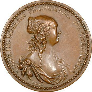 Rohan (Anne de), princesse de Guéméné, par Claude Warin, fonte moderne