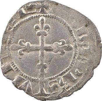 Dauphiné, Viennois (dauphins du), Charles Ier dauphin et Roi (Charles V), double denier, s.d