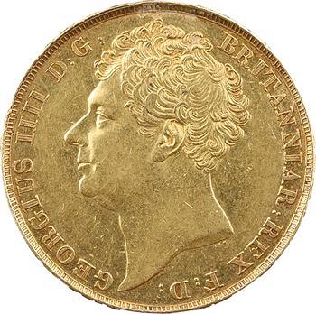 Royaume-Uni, Georges IV, 2 livres, 1823 Londres