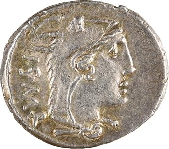 Thoria, denier, Rome, 105 av. J.-C