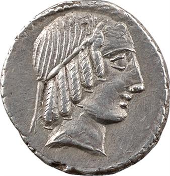Marcia, denier, Rome, 88 av. J.-C.