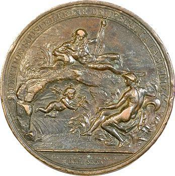 Louis XVI, le canal entre la Somme et l'Escaut, 1785 Paris