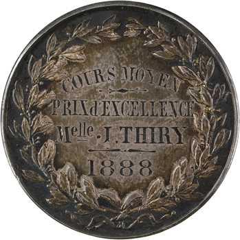 IIIe République, Prix d'excellence de la Chambre de Commerce de Paris, 1888 Paris