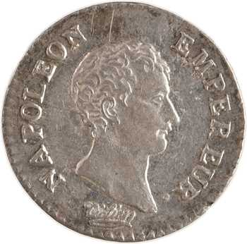 Premier Empire, quart de franc, An 13 Paris