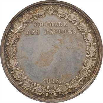 Charles X, Chambre des députés, 1826 Paris
