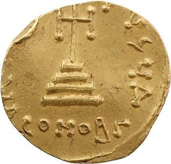 Justinien II, solidus, Constantinople, 687-692