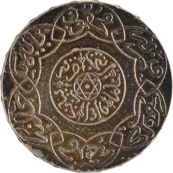 Maroc, Abdül Aziz I, 5 dirhams, AH 1316 (1898) Paris