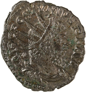 Postume, antoninien, Trèves, 265-268