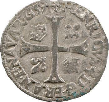 Henri IV, douzain aux 2 H, 3e type, 1594 Bayonne