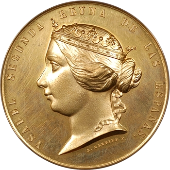 Espagne / Maroc, Isabelle II, la deuxième guerre du Maroc (guerre de Tétouan), par Gerbier, 1859