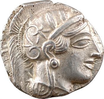 Attique, tétradrachme, Athènes, c.480-400 av. J.-C