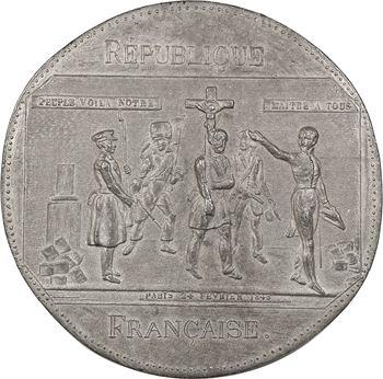 IIe République, honte aux Rois de la terre, 1848 Paris