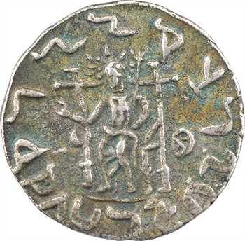 Bactriane, Hermaios (monnayage posthume), tétradrachme, c.70-55 av. J.-C.