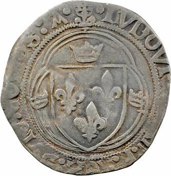 Louis XII, blanc de Provence 3e type, Aix-en-Provence