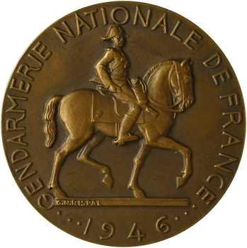 IVe République, la Gendarmerie Nationale de France, par Rispal, 1946