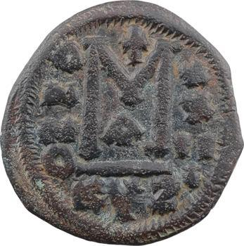 Justinien Ier, follis, Cyzique, 1re officine, An XXIII = 549-550