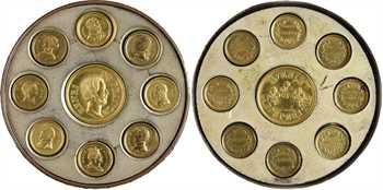 IIe République, médaille-boîte séditieuse, La meilleure des République (hommage aux Bourbons), s.d