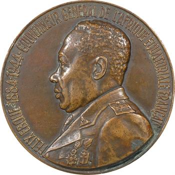 Afrique Équatoriale Française/Tchad, Félix Eboué, Gouverneur général de l'A.E.F., par Delannoy, 1944 Paris