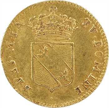 Lorraine (duché de), Léopold, demi-léopold d'or, 1720 Nancy