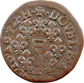 Berri, Boisbelle et Henrichemont (principauté de), Maximilien III, double tournois, 1642