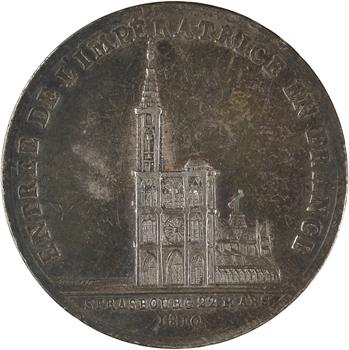 Premier Empire, arrivée de Marie-Louise à Strasbourg, 1810 Paris