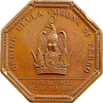 Italie, Napoléon Ier, ordre de la couronne de fer, 1805 Paris