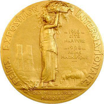 IIIe République, Exposition internationale des meilleures marques à Reims, 1928 Paris