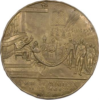 Charles X, sacre à Reims le 29 mai 1825, cliché par Nuffer, 1825 Paris