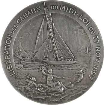 Dubois (H.) : Libération des canaux du Midi, 1897 Paris