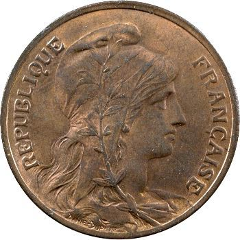 IIIe République, 10 centimes Daniel-Dupuis, 1906 Paris
