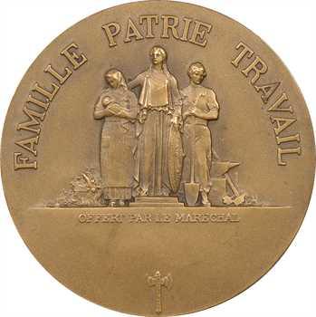 IIe Guerre Mondiale, le Maréchal Pétain, par F. Cogné, s.d. Paris