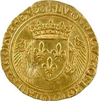 Louis XII, écu d'or au porc-épic, Bourges